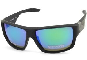 Dragon Deadlock LL 41900-045 Matte Black Green Ion Sunglasses FREE EXPRESS POST