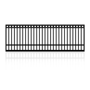 4m Single Gate for Sliding or Swing Dual Purpose with Top Rings