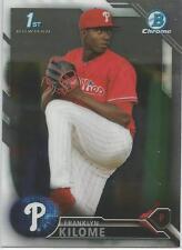 Franklyn Kilome  Philadelphia Phillies 2016 Bowman Chrome Prospect