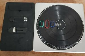 Playstation 2 & 3 PS2  DJ Hero Turntable Controller Only Tested Fully Working