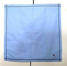 Burberry Bandana Pocket Square Mini Scarf Handkerchief Neckerchief Dog Blue