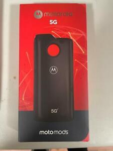 Brand New Motorola Motomod 5G for  Moto Z2 Force Z3 Z4 (Verizon) Moto mod Black