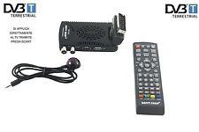 DECODER MINI DIGITALE TERRESTRE SCART DVB-T2 180°USB HDMI PRESA SCART HD-333