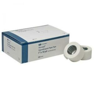 """Kendall Hypoallergenic Medical Tap, White, Non-Sterile, 1""""x10yds, CS/120, #1914C"""