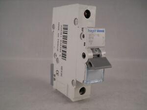 Hager MCB 16 Amp Single Pole Circuit Breaker Type B 16A B16 MTN116
