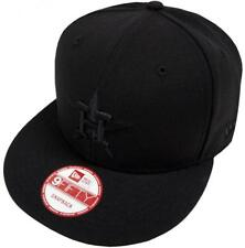 New era MLB houston astros Black on Black SnapBack cap 9 fifty Limited Edition