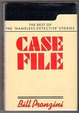 Case File by Bill Pronzini SIGNED HC w/DJ