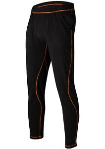 New Mens FXR Pyro Pants, Layerwear, Black / Orange, Extra Large, XL