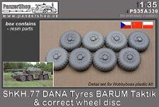 ShKH.77 DANA Tyres BARUM correct wheel disc 1/35 PanzerShop A339 resin Hobbyboss