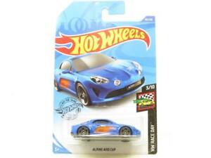 Hot Wheels Alpin A110 Coupe Course Jour Bleu 80/250 Long Carte 1 64 Echelle