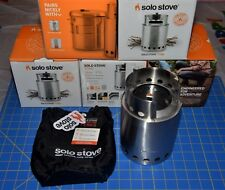 TITAN by Solo Stove Twig Burning Convection Gasifier Larger Camping Cook Stove ☦