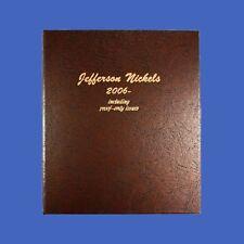 Dansco Album Jefferson Nickel 2006 to Date with Proof #8114