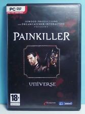 Painkiller Universe PC Roll Playing Original DVD Case Version Complete