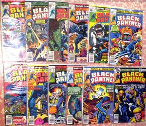 Jack Kirbys Klassiker BLACK PANTHER 1-12 von 1977-78 (1)
