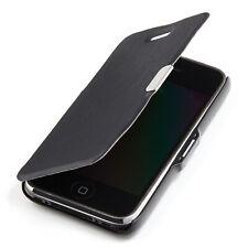 Apple iPhone 3G / 3GS Hülle Tasche Slim Case Schutz Etui Cover Book schwarz