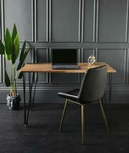 Winchester Dining Table Brown Wood Kitchen Furniture 120 x 70 x 76 cm
