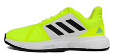 Adidas CourtJam  Bounce M Tennis Shoes Yellow Marathon Runner Boost NWT FX4102