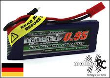 1x Turnigy nano-tech 950mah 1S 25~50C Lipo Akku NEU OVP 3,7V Walkera V120 X100