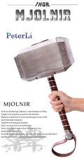 Marvel's Avengers 2 Thor Hammer 1:1 Adult Replica Prop Mjolnir Model Cosplay