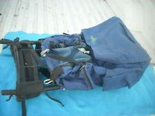 Kelty Trekker Hiking Backpack External Frame Camping Hiking Mountaineering Blue