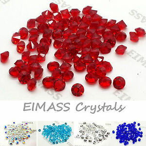 1440 x Wedding Party Table Scatter Crystals, EIMASS® 3787 Cut Glass Diamonds