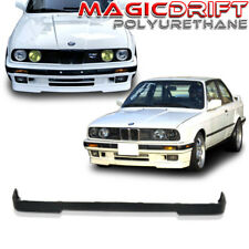 84-92 BMW E30 3-SERIES LOWER VALANCE OE IS M-TECH STYLE FRONT BUMPER LIP SPOILER