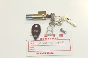 Honda Set Antivol CB350-400-500-750 FOUR-XR250-400-600-CBX1000-CBX400-550