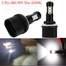 2x 880 881 899 50W 6000K White CREE High Power LED Projector Fog Lights Bulbs