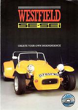 Westfield se & sei années 1980 marché britannique foldout la brochure commerciale