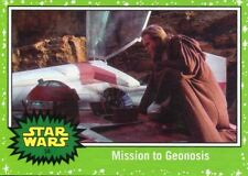 Star Wars The Last Jedi Green Base Card #54 Mission to Geonosis