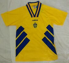 Sweden 1994 world cup retro vintage classic soccer team home jersey tw
