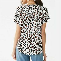 Womens Solid Elegant Casual Long Sleeve T-Shirt V Neck O Neck Pullover Loose