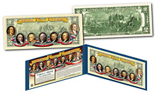 FOUNDING FATHERS of the U.S.A OFFICIAL Legal Tender U.S. $2 Bill (Version 2)