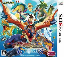 Nintendo 3DS Japan Monster Hunter Stories Tracking Number from Japan