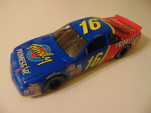 ERTL 1997 TED MUSGRAVE #16 FAMILY CHANNEL PRIMESTAR FORD T-BIRD NASCAR 1:18