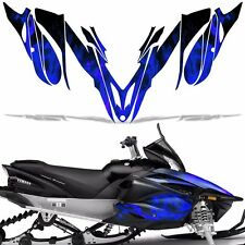 Yamaha APEX Decal Wrap Graphic Kit RTX GT MTX LTX Sled Snowmobile 12-16 ICE BLUE