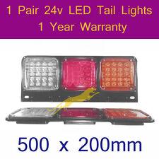 LED Tail Light 2 x 24v LED TailLights for trailers,forklift,caravans,trucks E046