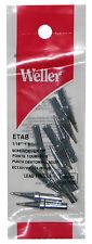 (PACK OF 10) Weller ETA Series Single Flat Original Solder Tip FOR PES51 & WES51