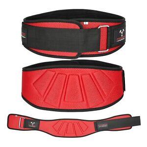 "Weight Lifting Belt 6"" Wide Lower Back Support. Workout Belt for Men & Women"