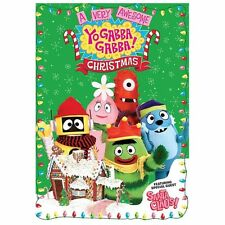 YO GABBA GABBA: A VERY AWESOME CHRISTMAS SPECIAL (DVD, 2013)-NEW!