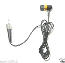 Single ear earphone For Sennheiser G1 G2 G3 Wireless Monitor 3.5mm Lock screw