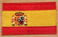 SPAIN Spanish Country Flag Embroidered PATCH