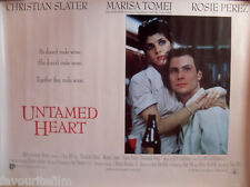 Cinema Poster: UNTAMED HEART 1993 (Quad) Christian Slater Marisa Tomei