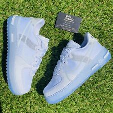 Nike Air Force 1 AF1 React QS White Light Bone Ice Sail UK 9 | EU 44