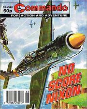 COMMANDO MAGAZINE WAR STORIES IN PICTURES - No. 2903 'No Score Nixon'