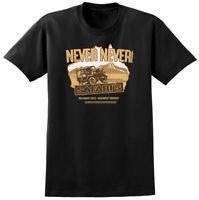 Crocodile Dundee Inspired Never Never Safari's T-shirt - Retro 80s Film Movie