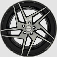 4 GWG Wheels 20 inch Black RAZOR Rims fits CHEVY IMPALA 2000 - 2013