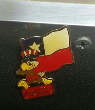 1984 sam the eagle coca cola Olympic flag pin chile