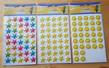 Merletto Puffy Stickers Happy faces Stars