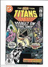 New Teen Titans #7 | Very Fine+ (8.5) | Origin of Cyborg
